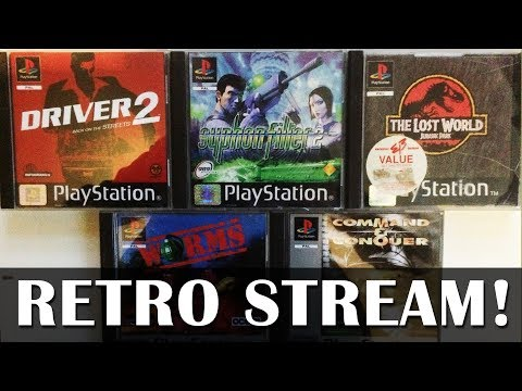 Let's Play Syphon Filter and others on original hardware - Live PS1 gameplay!