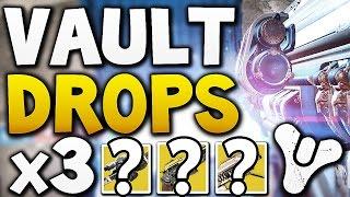 Destiny - VAULT HARD DROPS x3 (Week 2)