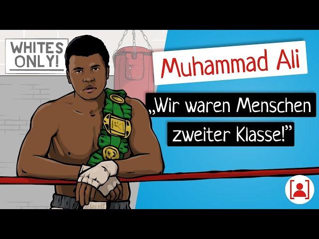 Bevor Muhammad Ali berühmt wurde… | KURZBIOGRAPHIE