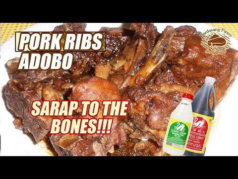 Pork Ribs Adobo Youtube
