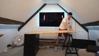 Building The ULTIMATE Gaming Room for Twitch!! (Hidden Episode)