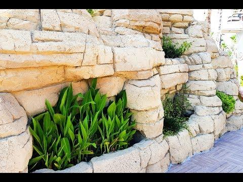 beautiful-stone-wall-with-flowers-creative-design-idea-2019