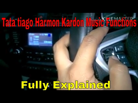 Features of  Harman kardon music system in Tata Tiago