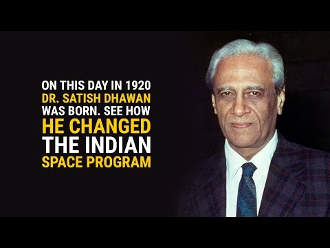 The man who revolutionised the space program in India