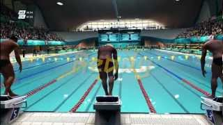Men's 100m Freestyle | London 2012:The Olympic Games | XBOX 360 | Hard