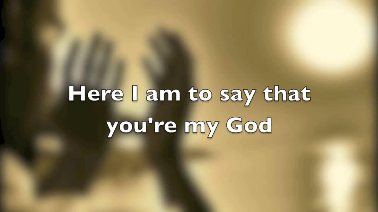 Here i am lord lyrics john michael talbot