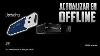 Xbox One | Como Actualizar la Consola por USB! | (Solución a errores E000)