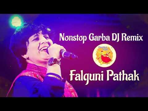 #1 Falguni Pathak Nonstop Garba  DJ Remix  2018  Part 1
