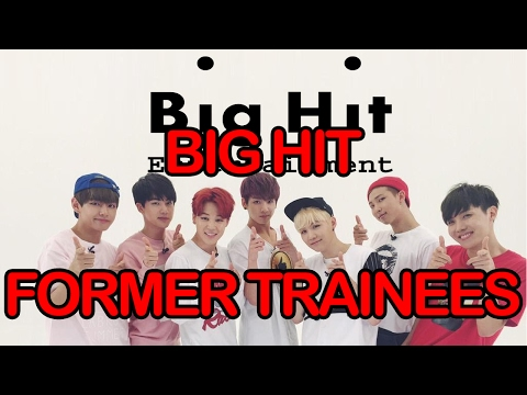 Kpop Big Hit Entertainment Former Trainees