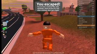 Jailbreak! | Having fun as a Cop and a Prisoner! | ROBLOX