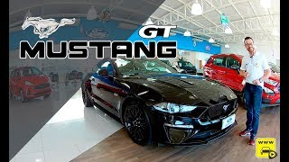 Mustang GT Premium 2019 nos mínimos detalhes