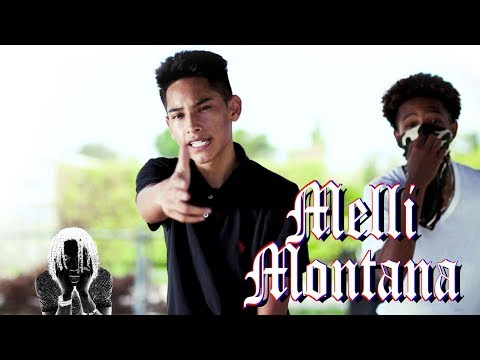 """Melli Montana (15yr) """"RUBBIN OFF THE PAINT"""" (Remix) (Official Music Video) 