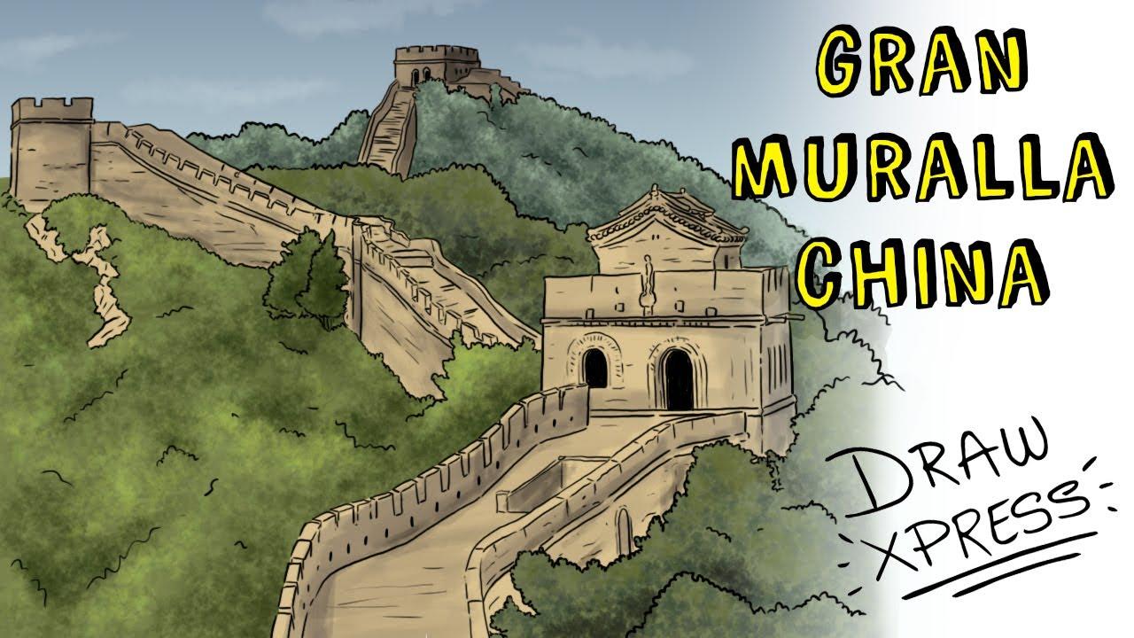 LA GRAN MURALLA CHINA | Draw My Life