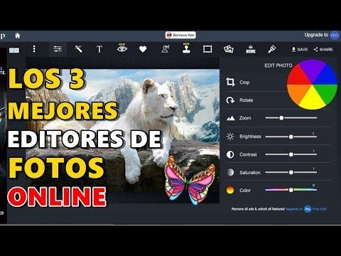 LOS 3 MEJORES PÁGINAS WEB PARA EDITOR DE FOTOS ONLINE - 2018