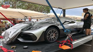 Production-Ready Mercedes Project One Spotted In Monaco  - Car Reviews Channel