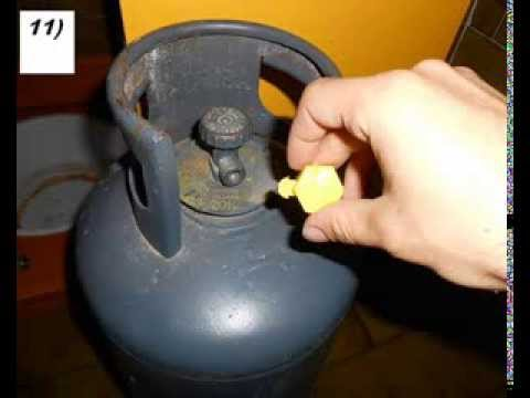 Tutorial come sostituire una bombola del gas youtube - Bombole gas per cucina ...
