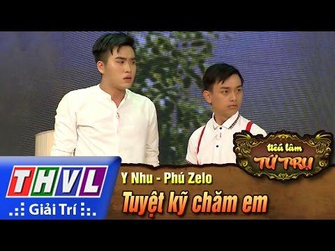 THVL | Tiếu lâm tứ trụ - Tập 4: Tuyệt kỹ chăm em - Y Nhu, Phúc Zelo