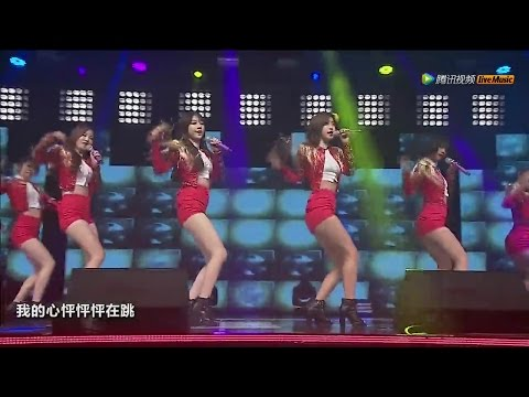 Girl's Day Tencent Kpop Live 8 songs 걸스데이 텐센트 케이팝 라이브 소진 유라 민아 혜리 151029 고양 아람누리