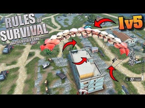 Hartzy vs Fireteam *Bitter lake 3 Story* (Rules of Survival #135)