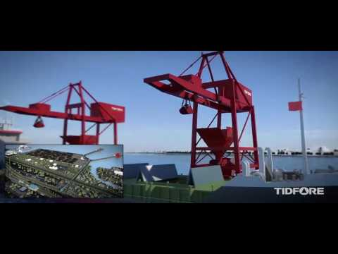 TIDFORE Group's Large-Scale Stockyard Bulk Material Handling & Storage System