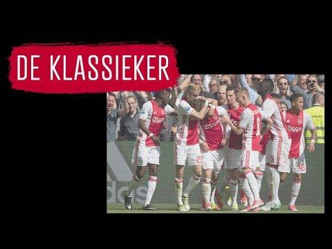 Vorig seizoen: Ajax verslaat Feyenoord in Amsterdam