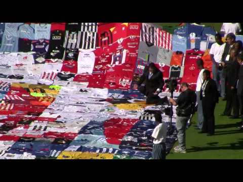 The Shirt on the opening of Soccer City South Africa with FIFA, PSL and Zuma.wmv