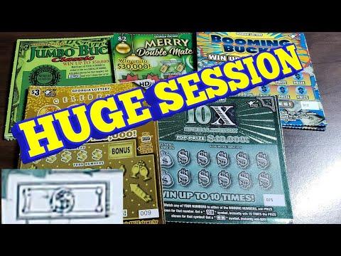 💥NICE WIN💥 $2 JUMBO BUCKS/BOOMING BUCKS/10X + MORE! GEORGIA LOTTERY SCRATCH OFF TICKETS