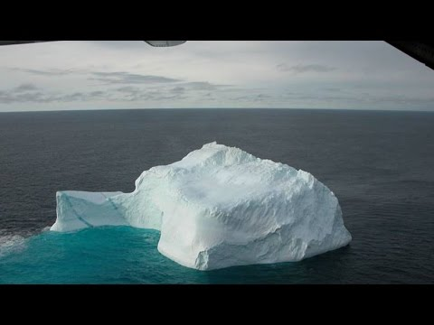 Why Six Times More Than Normal Icebergs are Blocking Atlantic Shipping Lanes (346)