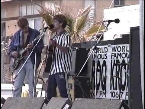 The La's live Venice beach, 1991