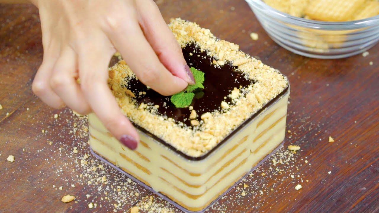 Resep Eclair Dessert Box No Bake  (RESEP IDE JUALAN 🤑)