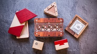 Pimp up your Christmas Gifts by using Puzzle Boxes!