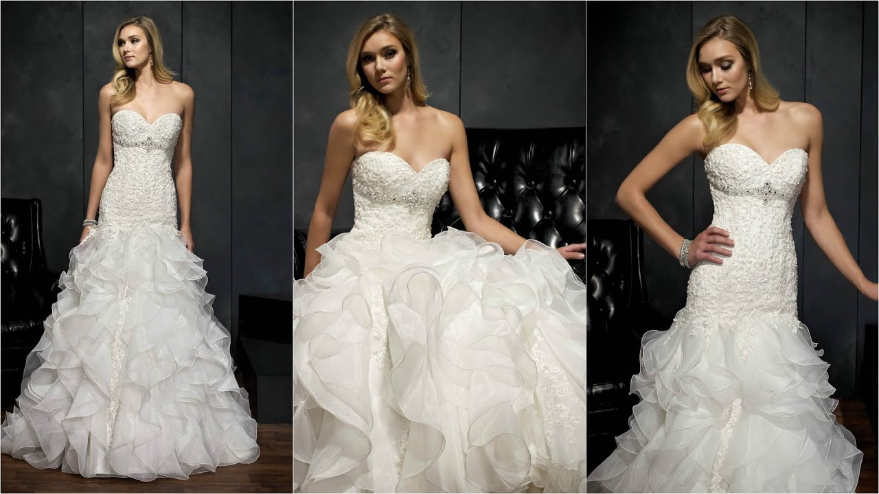 Strapless Wedding Dresses | Tulle Wedding Dress | Brides Dresses ...