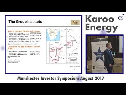 Investor Symposium Manchester: Karoo Energy (KEP) Presentation