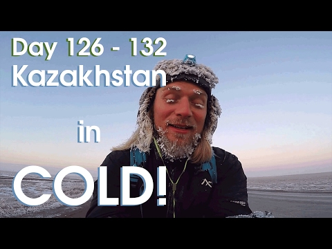 Day 126 - 132: Kazakhstan is COLD!