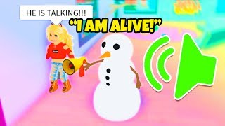 VOICE CHAT IN ROBLOX CHRISTMAS EVENT IS A BIT TOO REAL!