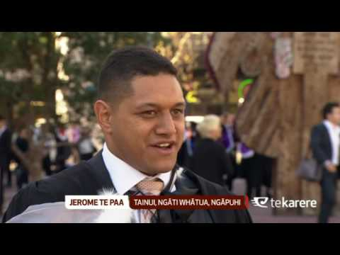 Young Māori graduate looks forward to serving his people