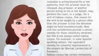 Habeas corpus - Wiki Videos