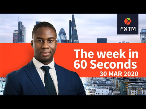 Oil Tumbles, Global PMI's & US jobs report: The week in 60 seconds | FXTM | 30/03/2020