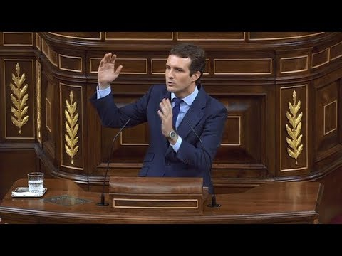 """Casado acusa a Sánchez de dar un """"golpe de Estado"""""""