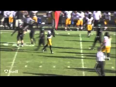 Steff Martin Chabot College Football Highlights #21