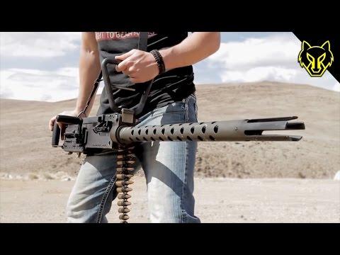 Handheld M2 .50 Cal