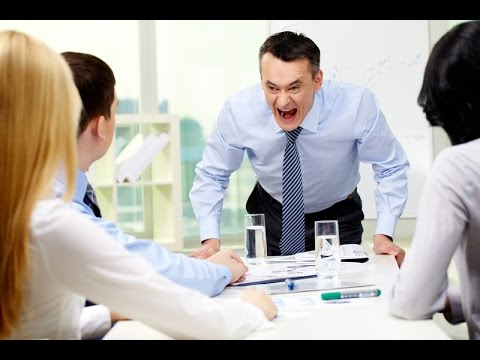 Heathy relationship between an employee and boss