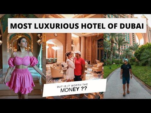 Best and most Luxurious hotel of Dubai - Period !! | ATLANTIS THE PALM | | DUBAI HINDI VLOG |