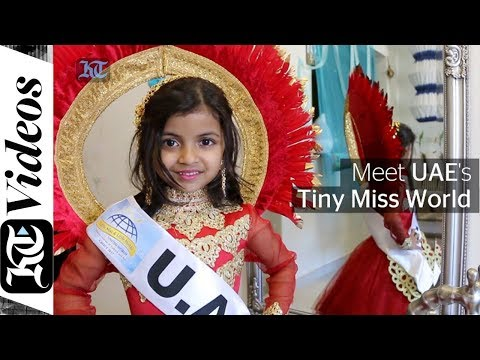 Meet UAE's 6-year-old Tiny Miss World