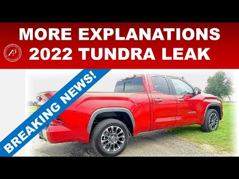MORE EXPLANATIONS ABOUT 2022 TOYOTA TUNDRA LEAKED PHOTOS