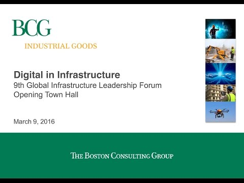 BCG's 2016 Global Infrastructure Projections – CG/LA Infrastructure's 9th Global