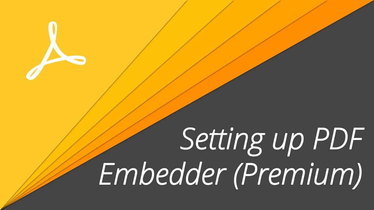 PDF Embedder (Premium)