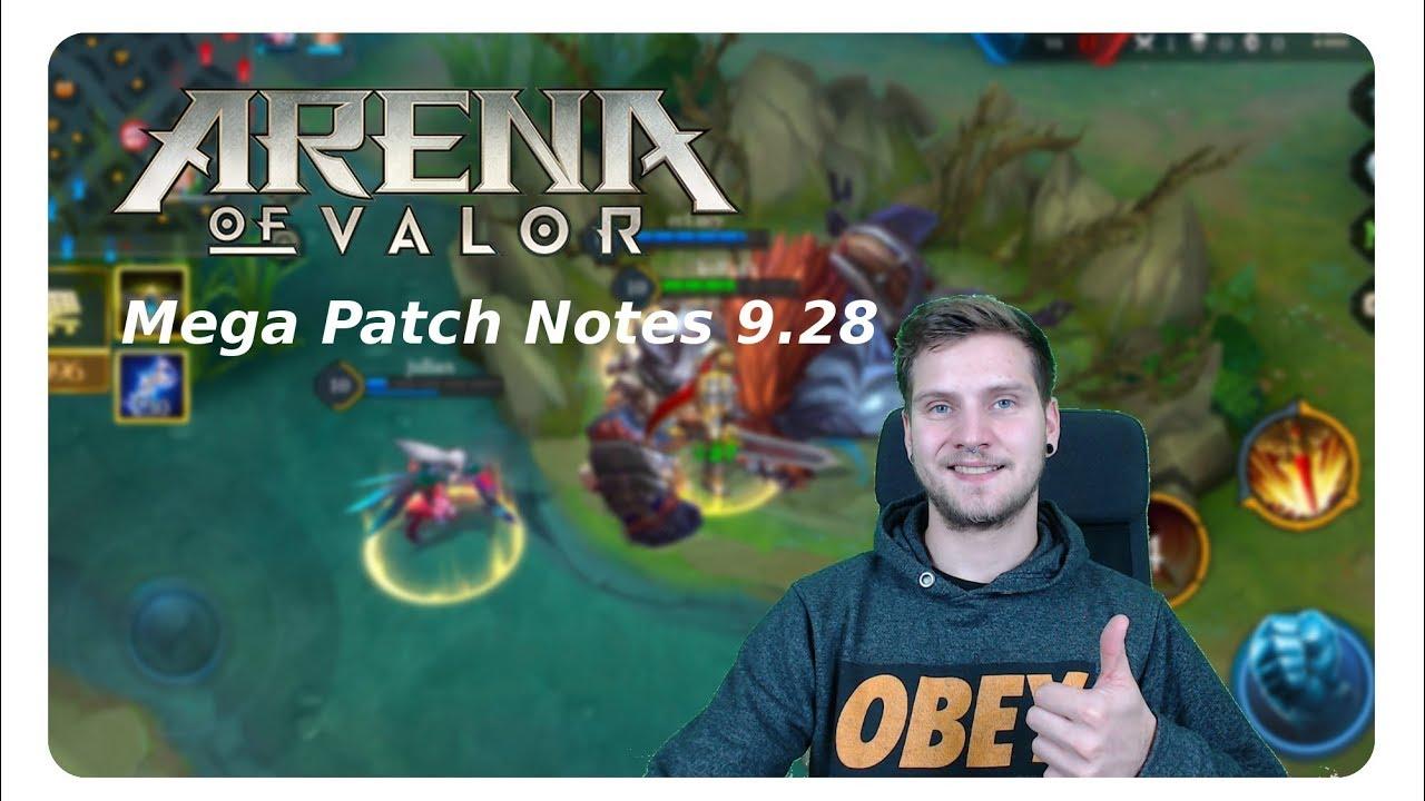 8 10 Mega Patch - Arena of Valor