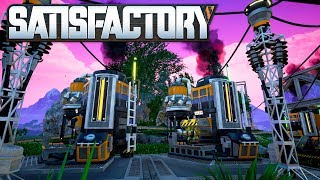 Satisfactory 08 | Biomasse Verbrennungsanlagen | Gameplay German Deutsch thumbnail