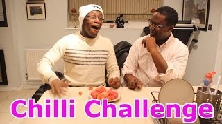 Chilli Challenge With My Dad